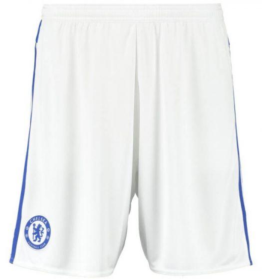Chelsea Kids Away Shorts 2015 - 2016