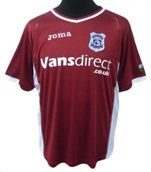 Cardiff City Away Football Shirt Adults 2008-09