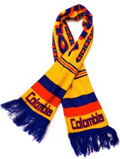 Colombia Football Scarf