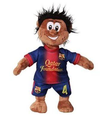 Barcelona Fabregas Mascot Bear