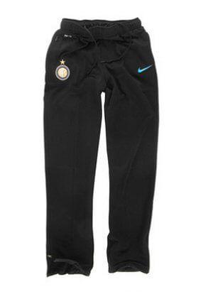 Inter Milan Boys Black Warm Up Pants 2011-12