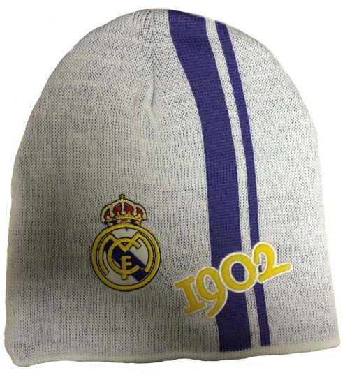 Real Madrid 1902 Beanie Hat (White)