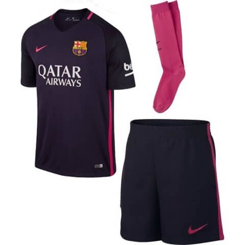 Barcelona Boys Away Kit 2016-17