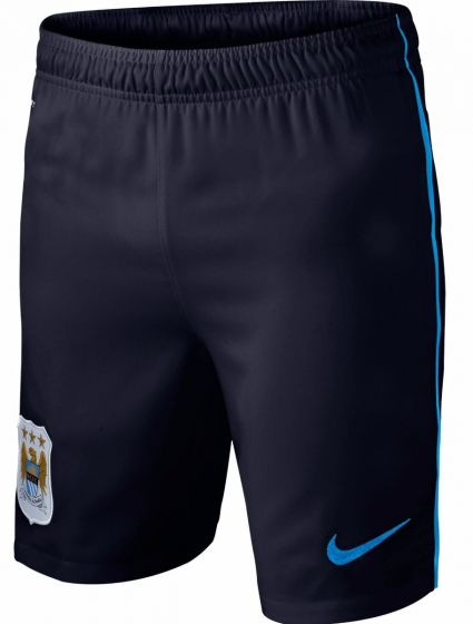 Manchester City Boys Third Football Shorts 2013 – 2014