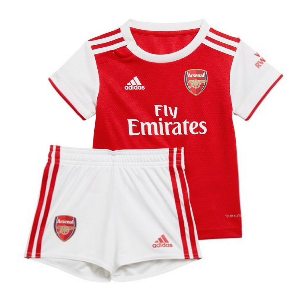 Arsenal FC Baby T-Shirt and Shorts 2-3 Years WT 2018//19.New