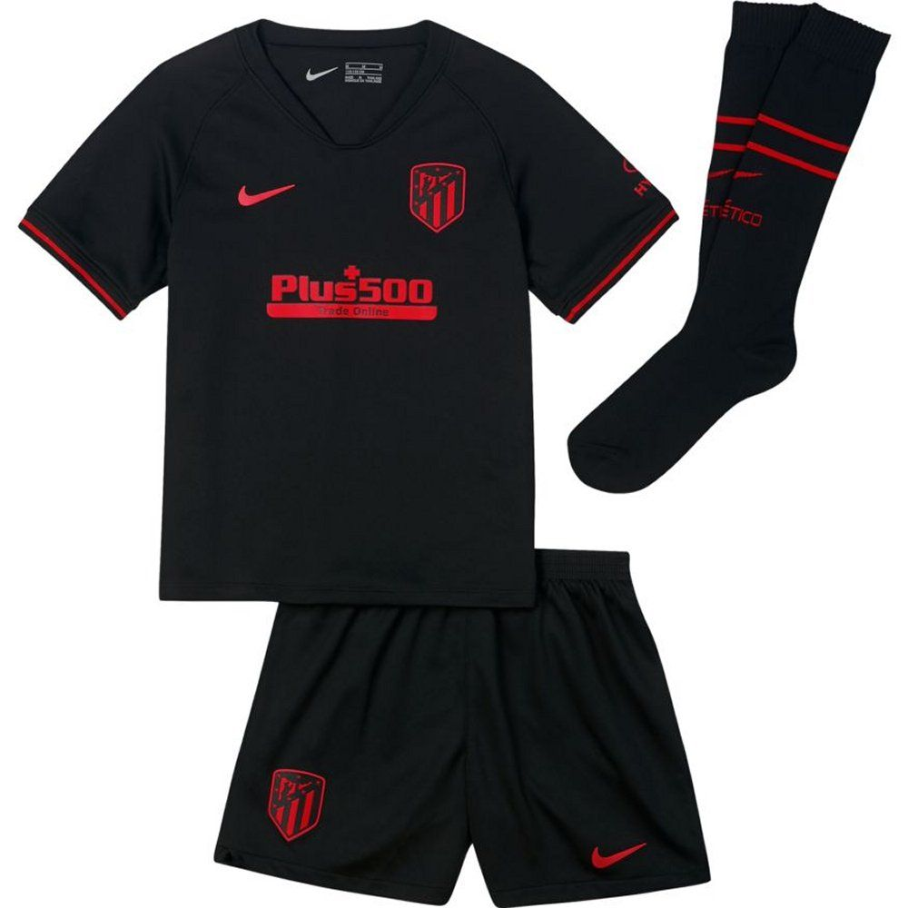 Atletico Madrid Kids Away Kit 2019 20 Authentic Nike