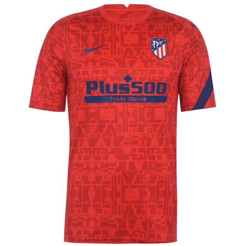 Atletico Madrid Pre Match Jersey 2020 21 Official Nike Atletico Training Top