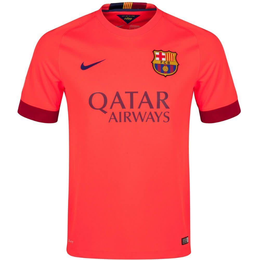 Barcelona Away Jersey 2014 2015 Soccer Box