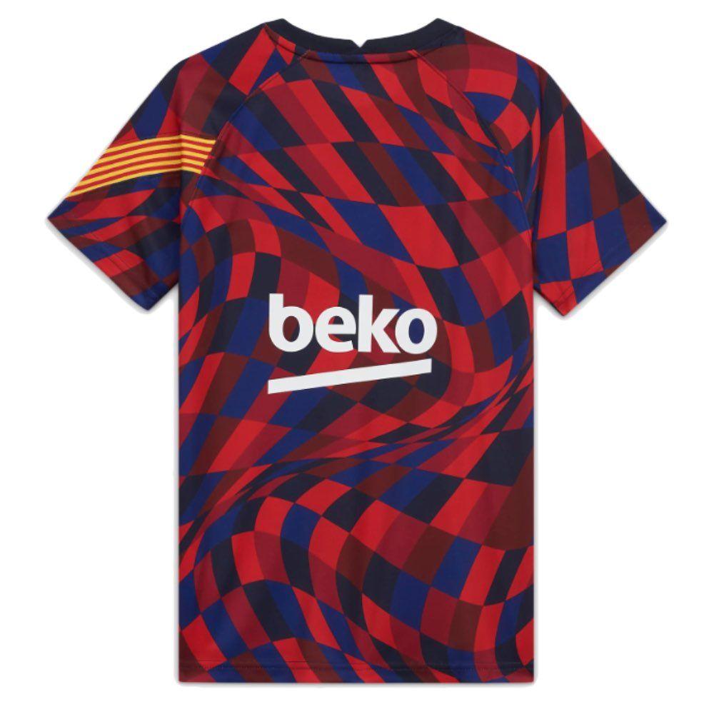 Barcelona Kids Home Pre Match Jersey 2020 21 Latest Design Official Nike Shirt