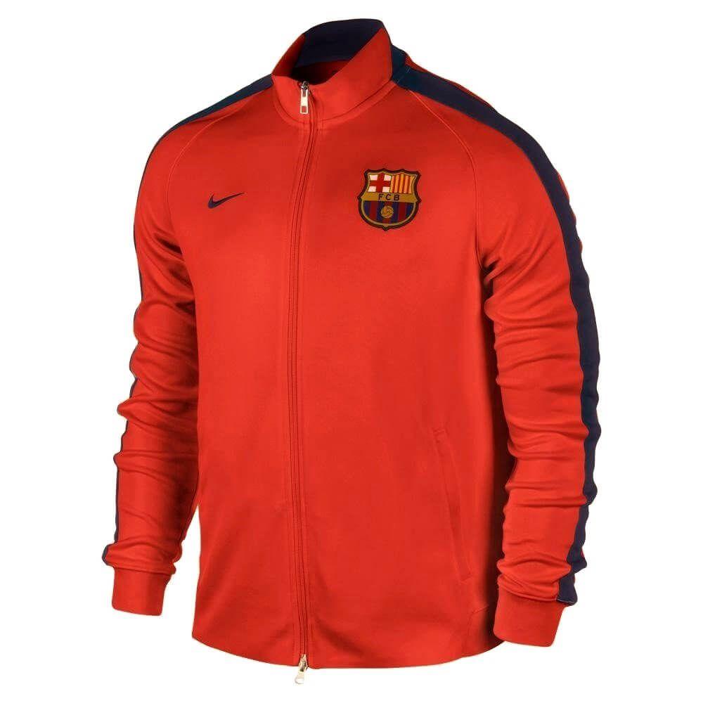 Barcelona N98 Jacket 2014 2015 (Orange)