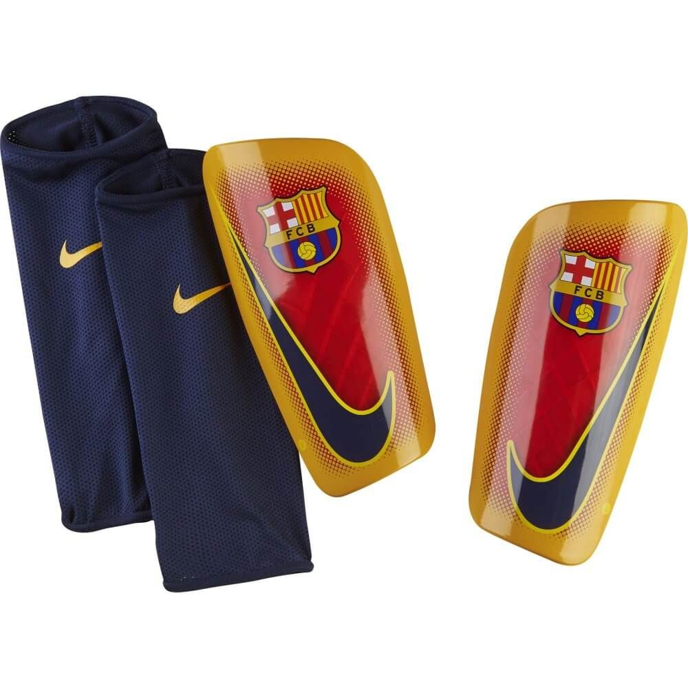 F.C Barcelona Shin Pads Youths SP Official Merchandise