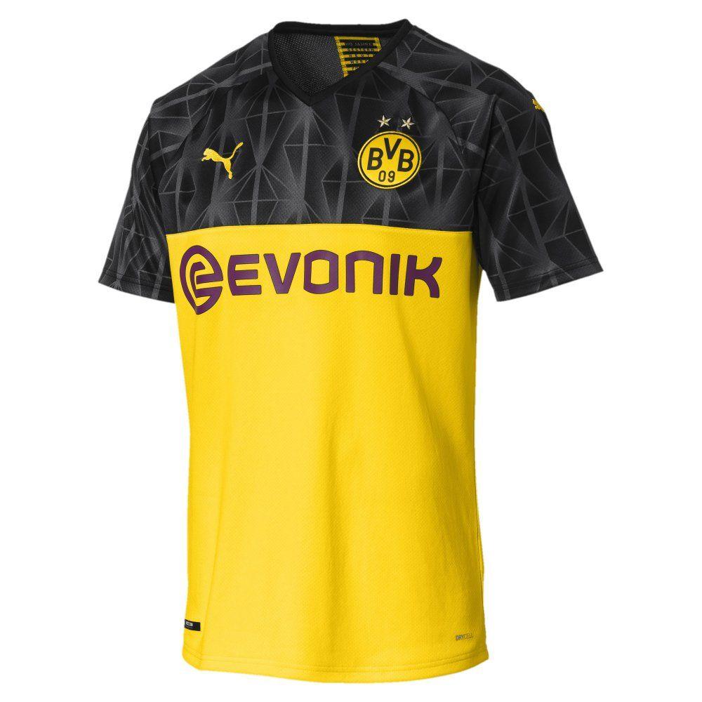 Borussia Dortmund Cup Home Shirt 2019 20 Authentic Puma