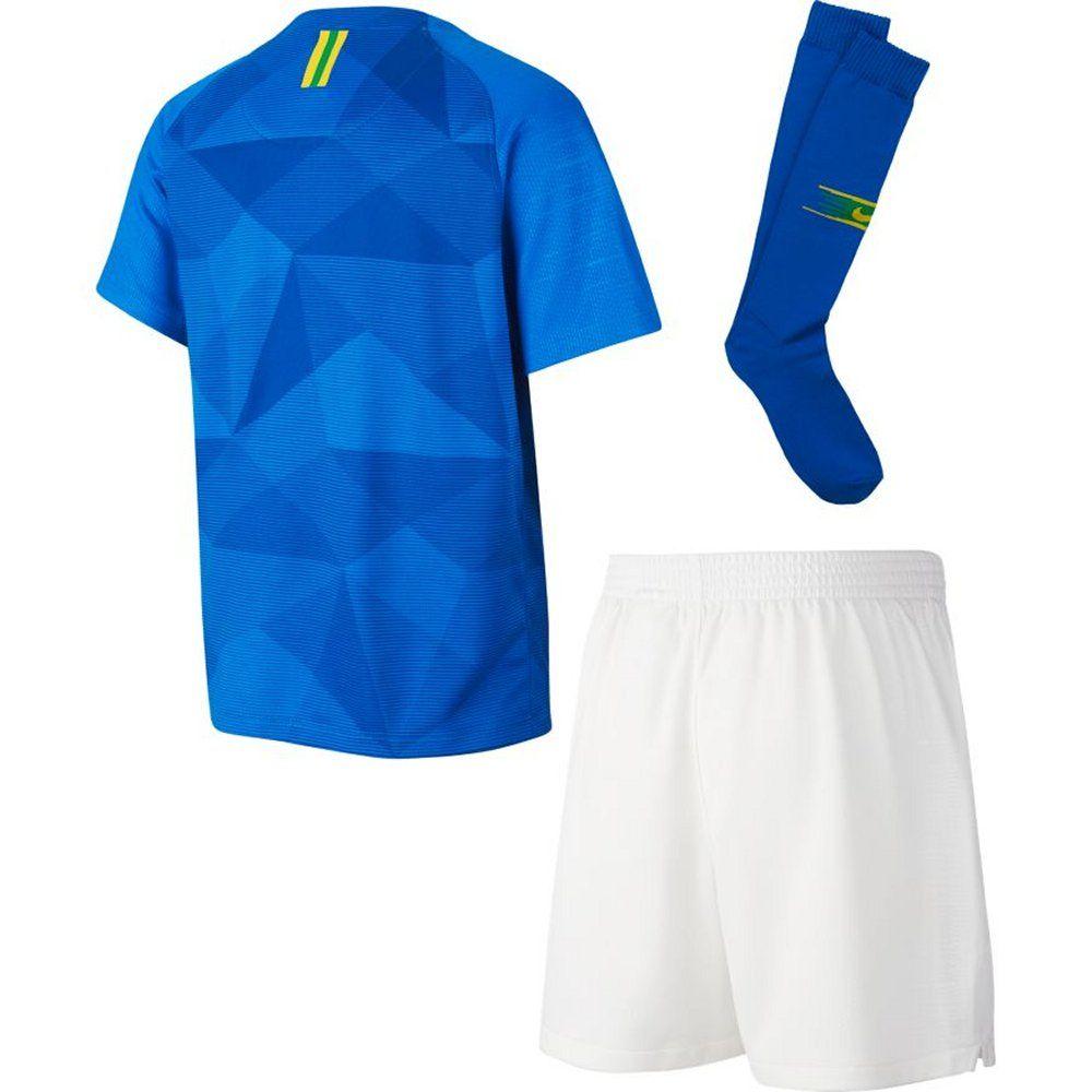 Brazil Nike Away Little Boys Kit 2018 19 Now Released To Order
