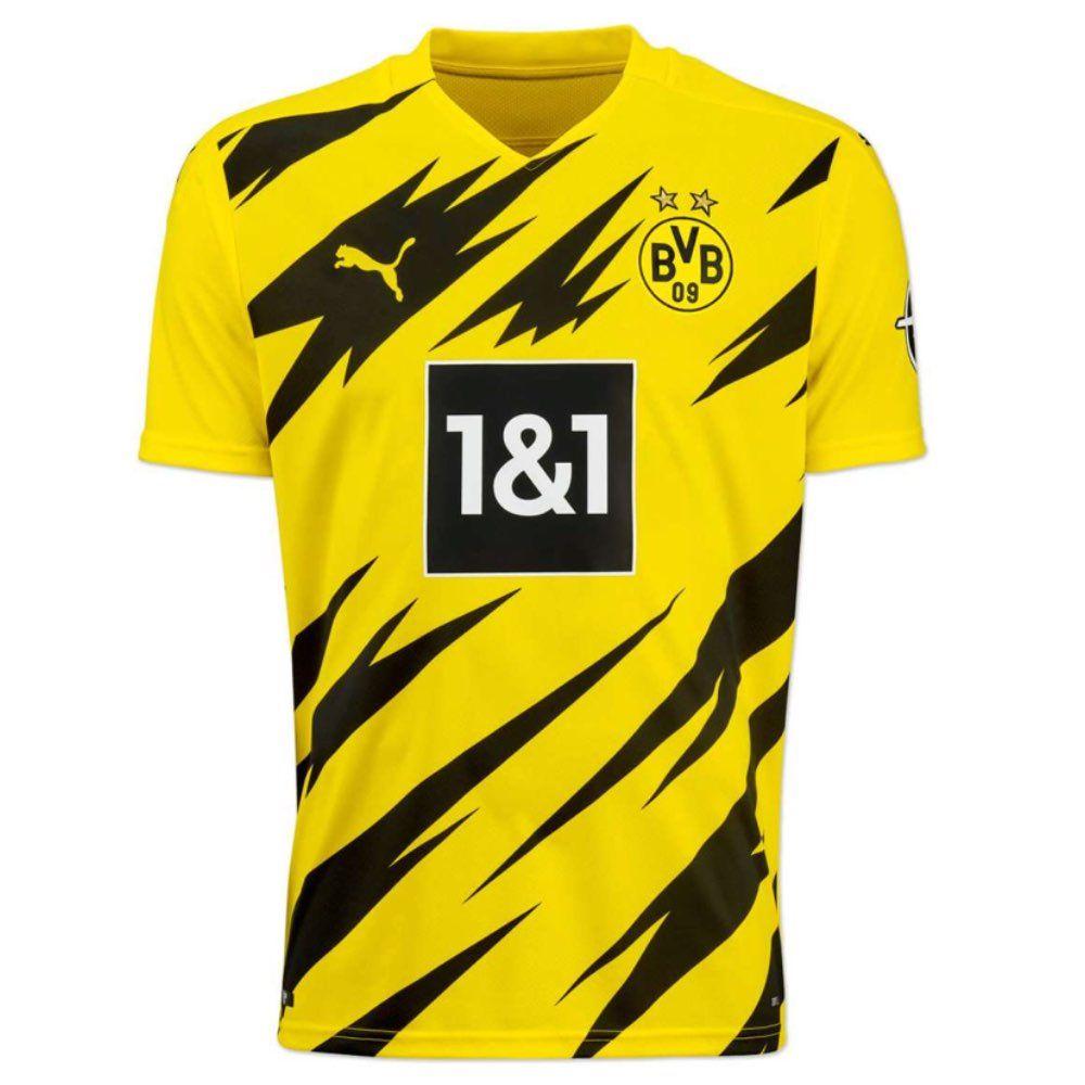 Borussia Dortmund Home Shirt 2020 21 Official Puma Bvb Home Jersey 20 21