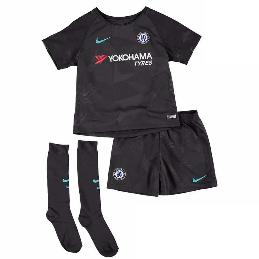 Chelsea Kids Third Kit 2017 18 Produced By Nike