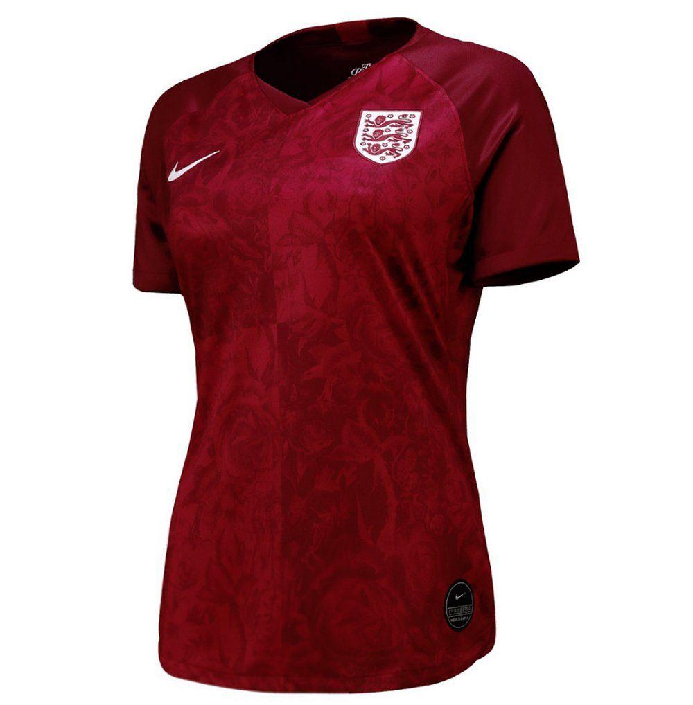 England Women's 2019 World Cup Away Shirt   Official Nike