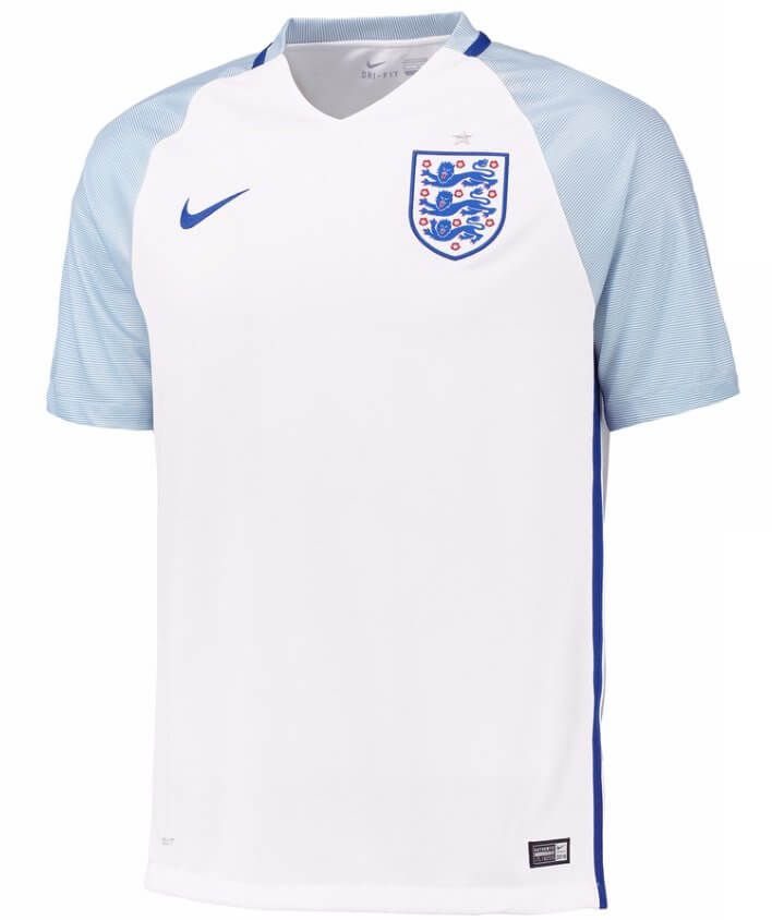 Mens Size Small 36//38 Nike England 2016-2017 Home Football Shirt New//Tags