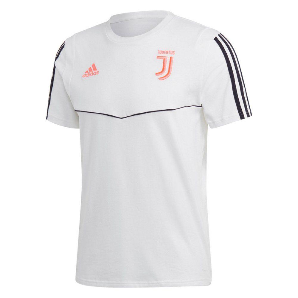 Juventus White T Shirt 2019 20 Genuine Adidas Kit