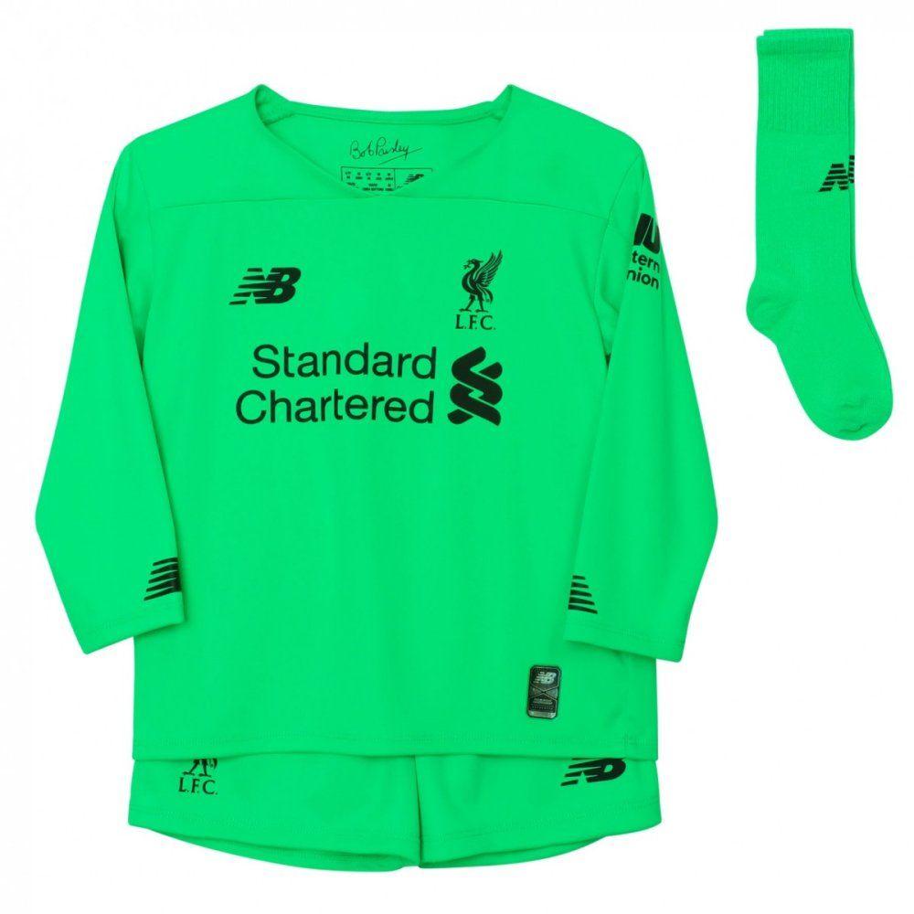 Liverpool Kids Away Goalkeeper Kit 2019 20 Authentic Nb