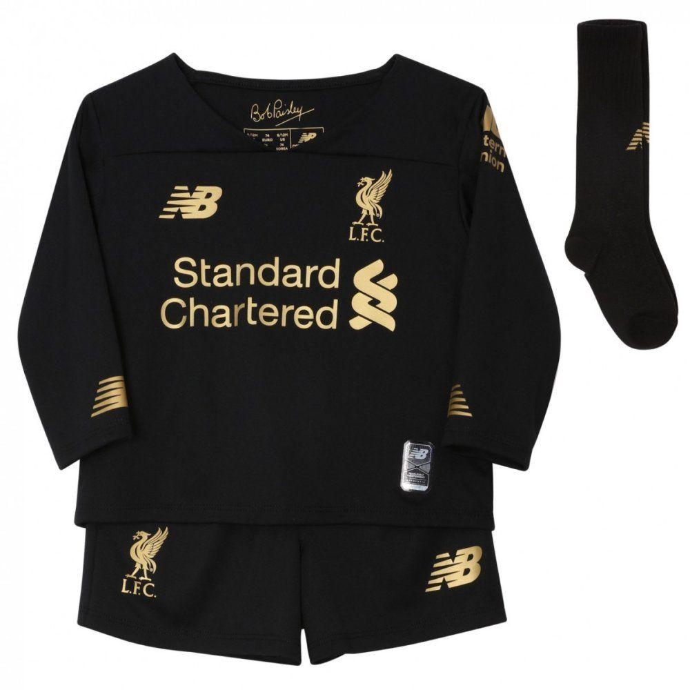 Liverpool Kids Home Goalkeeper Kit 2019 20 100 Official Nb