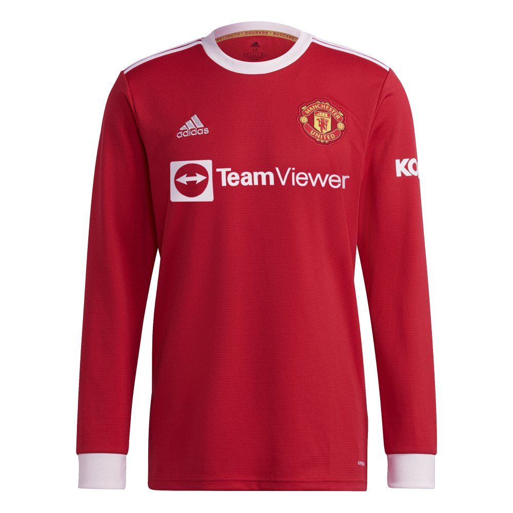 Manchester United Long Sleeve Home Shirt 2021/22