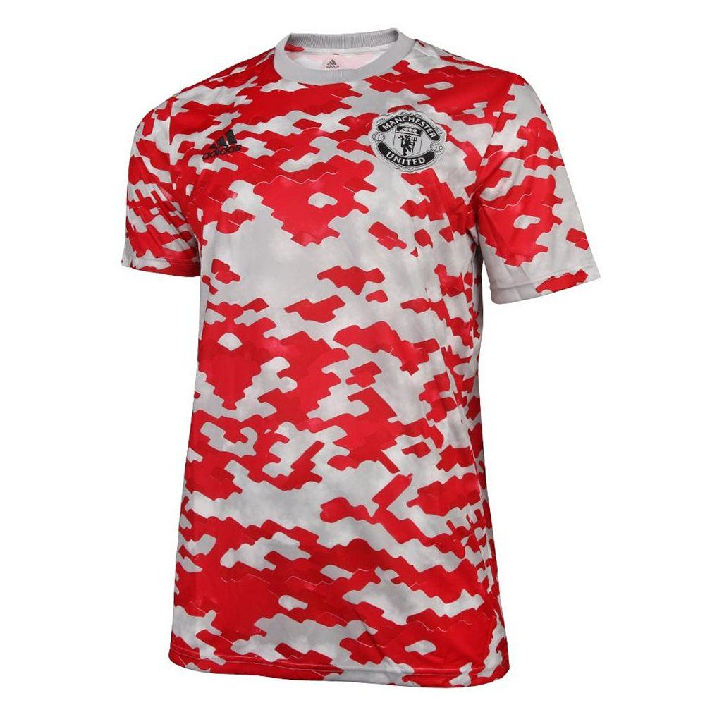 Manchester United Red Pre-Match Jersey 2021/22