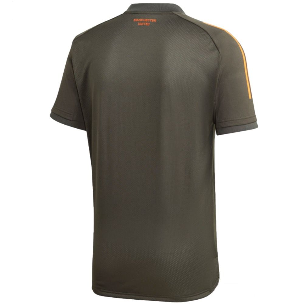 Official Adidas Manchester United Green Training Jersey 2020 21 Hurry Selling Fast