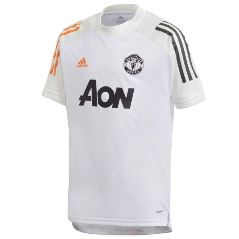 Manchester United Kids White Training Jersey 2020/21