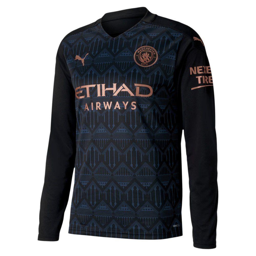 Mancity Jersey 2020/21 : Buy Green Puma Manchester City Fc ...