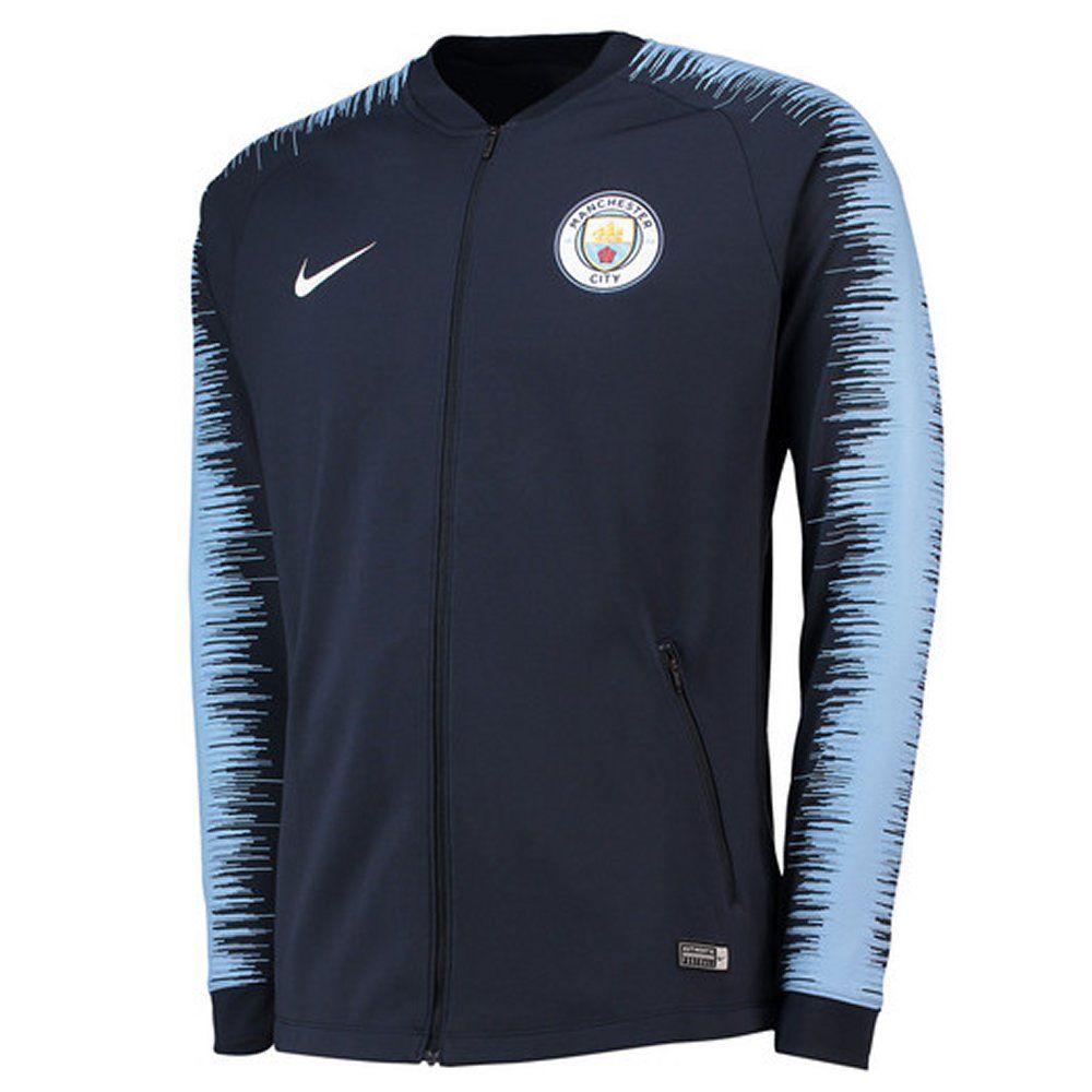 Manchester City Nike Navy Anthem Jacket