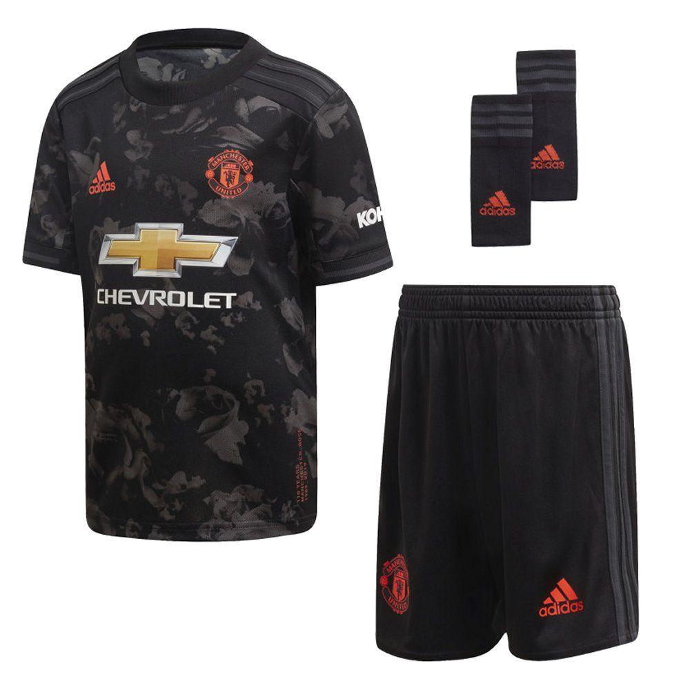 Manchester United Kids Third Kit 2019 20 Genuine Adidas Sportswear