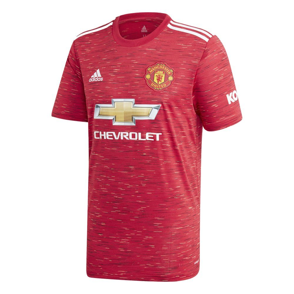 Manchester United Kids Home Shirt 2020 21 Genuine Adidas