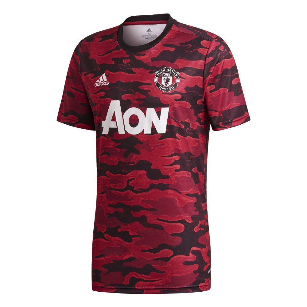 Manchester United Home Red Pre-Match Jersey 2020/21 | Official ...