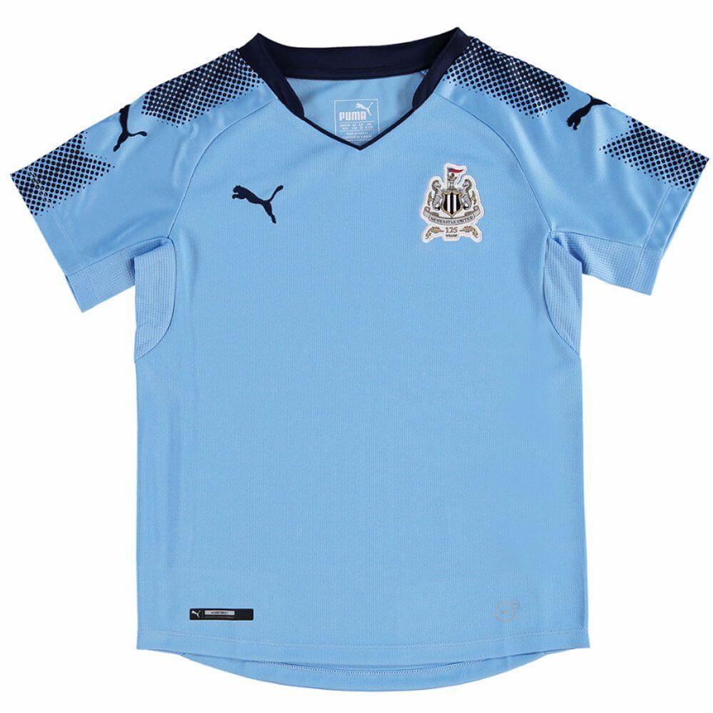 Authentic Puma Newcastle United Kids Away Kit 2014 //15 Shirt,Shorts /& Socks
