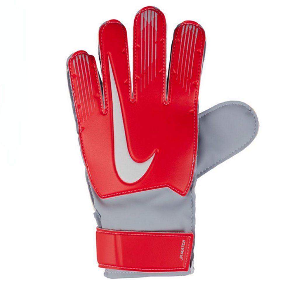 padre petróleo crudo espacio  Nike Match Junior Goalkeeper Gloves 2018/19 (Red/Silver) - Available Here