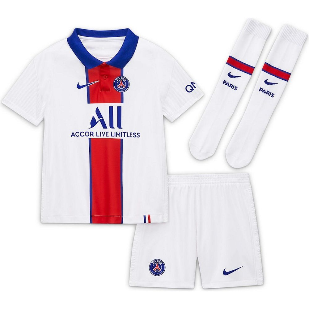 Paris Saint Germain Kids Away Kit 2020 21 Official Nike