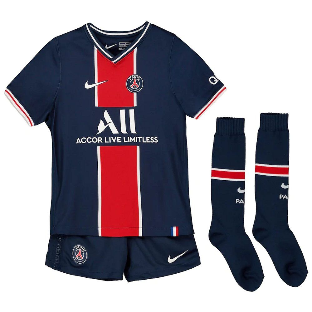 Paris Saint Germain Kids Home Kit 2020 21 Genuine Nike