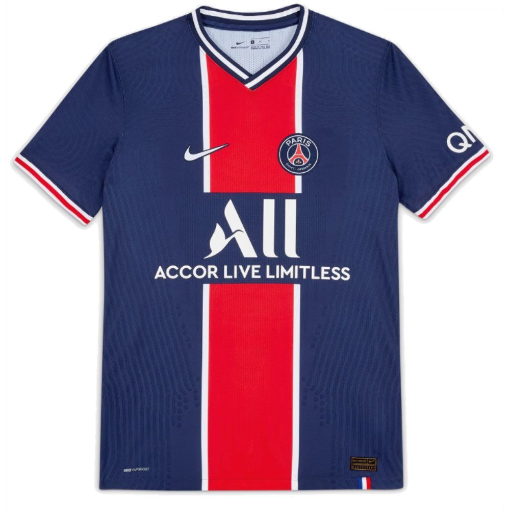 Paris Saint Germain Home Shirt 2020 21 20 21 Nike Psg Home Jersey