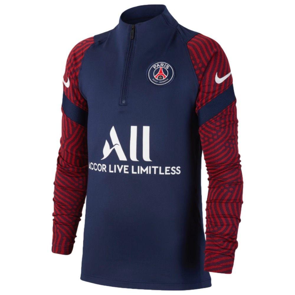 cubrir balcón Directamente  Paris Saint-Germain Kids Drill Top 2020/21   Official Nike 20/21 PSG Junior  Drill Top