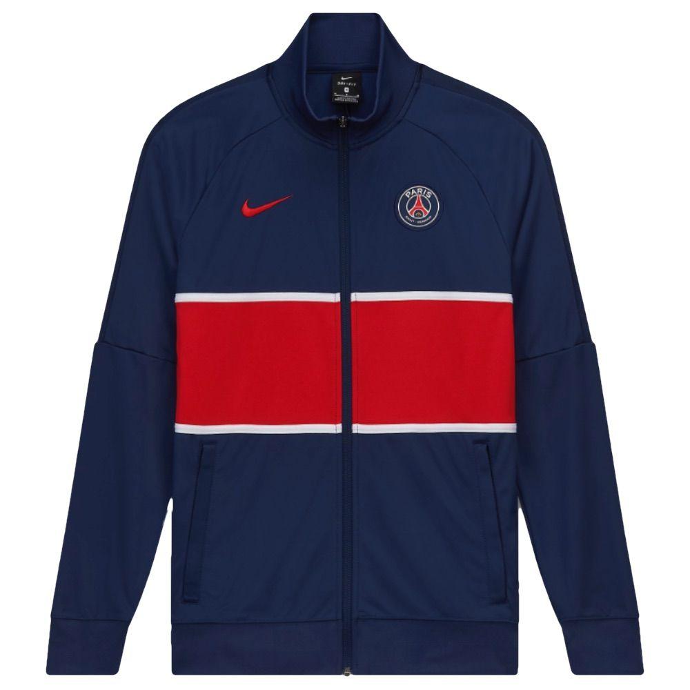 Paris Saint Germain Kids I96 Jacket 2020 21 Psg Junior I96 Jacket 20 21
