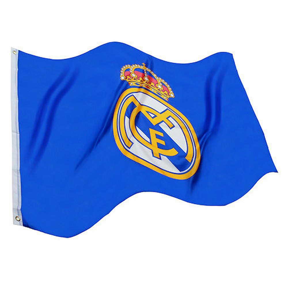 Real Madrid Core Crest Flag Official Rmcf Product