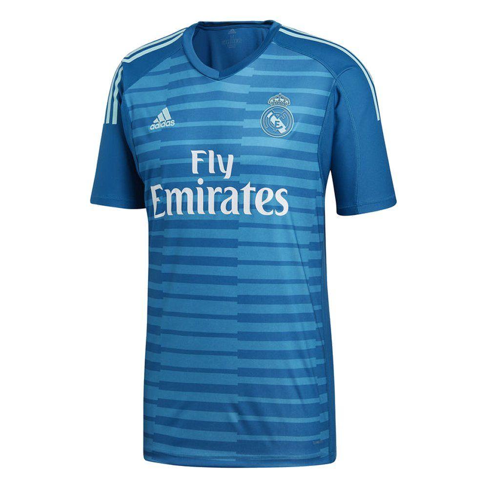 Real Madrid Adidas Away Goalkeeper Shirt 2018/19 - Official Jersey