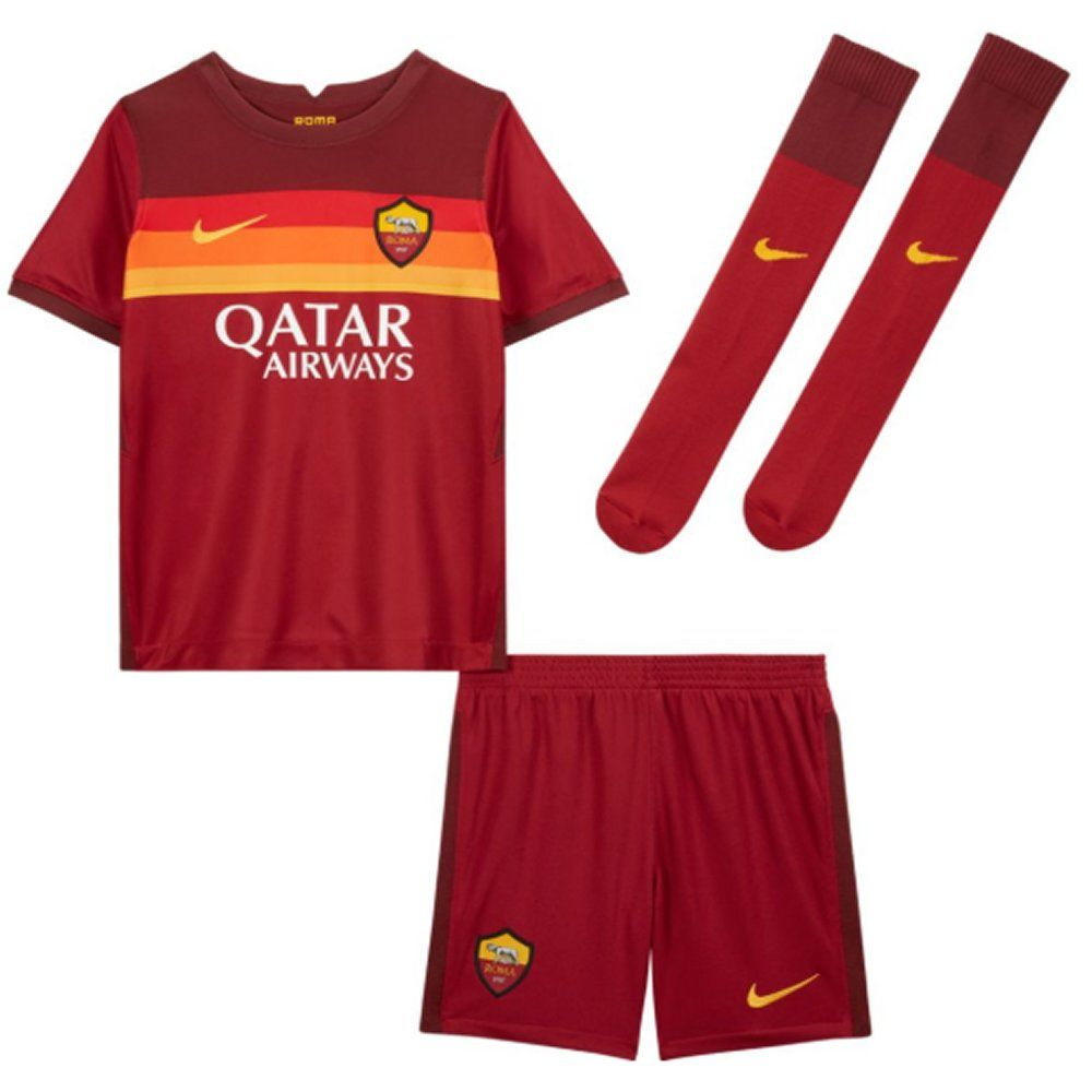 As Roma Kids Home Kit 2020 21 Authentic Nike