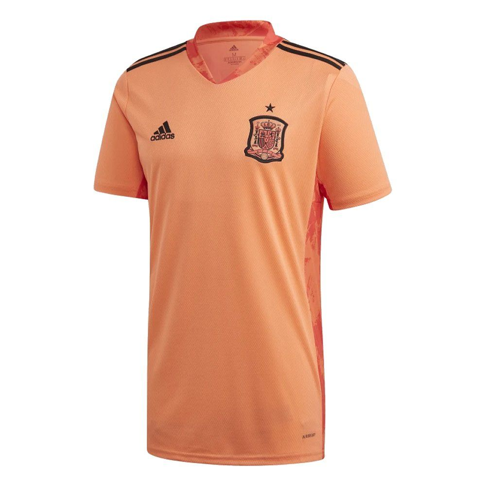 spain goalkeeper football shirt 2020 21 genuine adidas top spain goalkeeper football shirt 2020 21