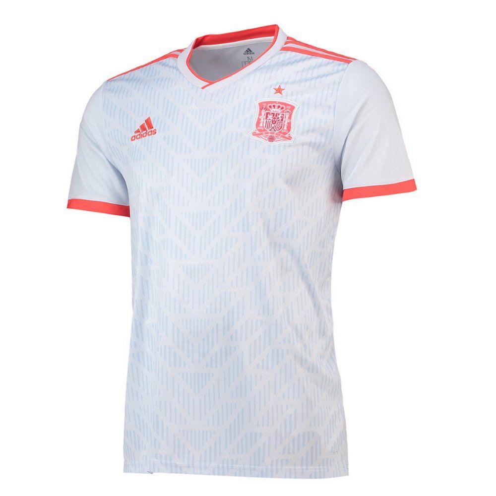 Destreza Pase para saber mantener  Spain Adidas Away Football Shirt 2018/19 - Now Launched