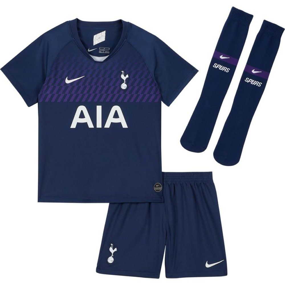 Tottenham Hotspur Kids Away Kit 2019 20 100 Official Nike Outfit