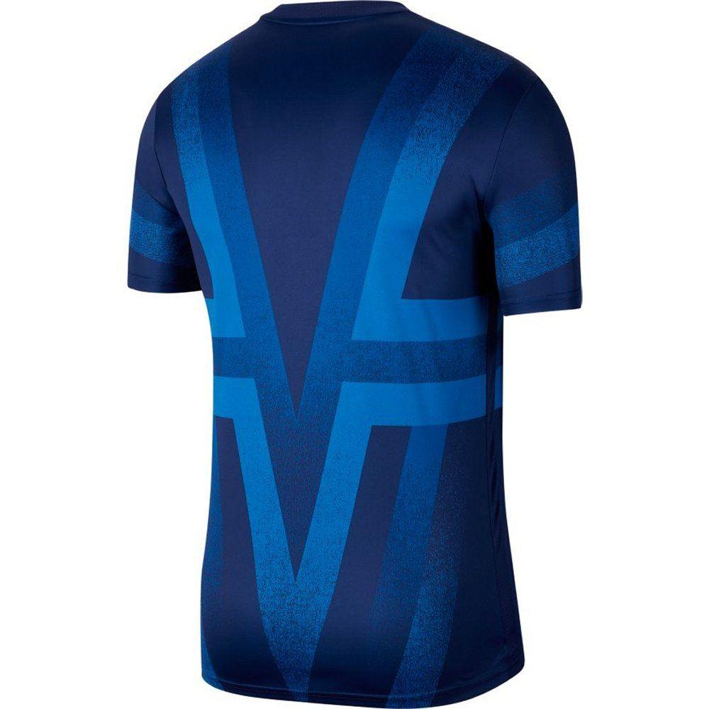 Tottenham Hotspur Blue Pre Match Shirt 2019 20 Authentic Nike