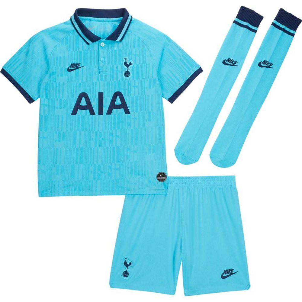 Tottenham Hotspur Kids Third Kit 2019 20 Authentic Nike Outfit