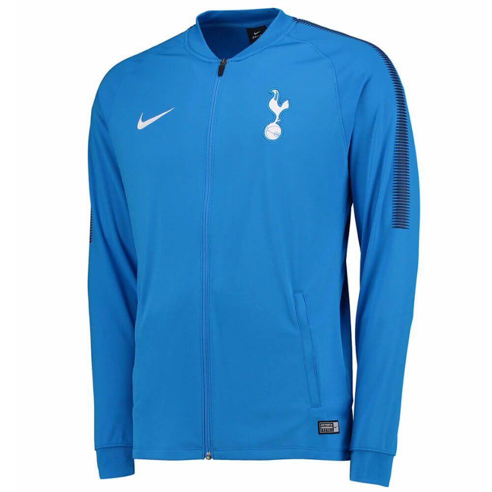 Tottenham Hotspur Squad Track Jacket 2017 18 Blue