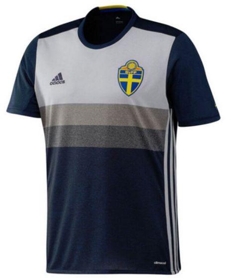 Sweden Kids Euro Away Shirt 2016/17